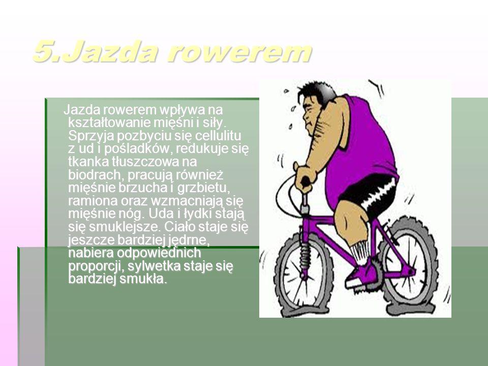 5.Jazda rowerem
