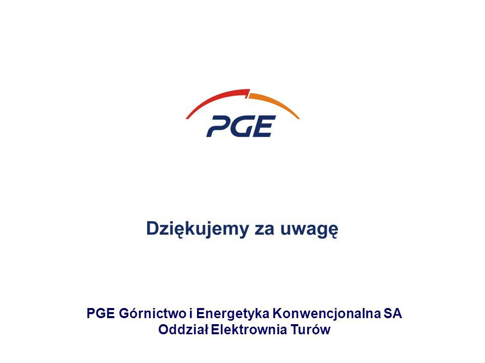 PGE Górnictwo i Energetyka Konwencjonalna SA Oddział Elektrownia Turów