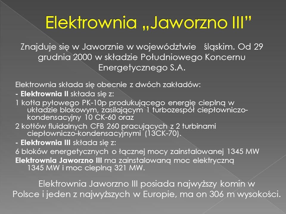 """Elektrownia """"Jaworzno III"""