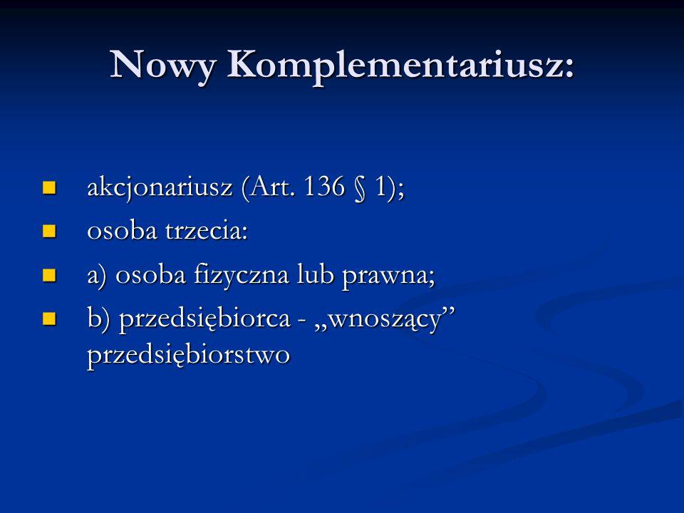 Nowy Komplementariusz: