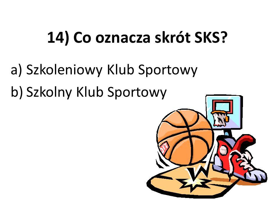 Szkoleniowy Klub Sportowy Szkolny Klub Sportowy