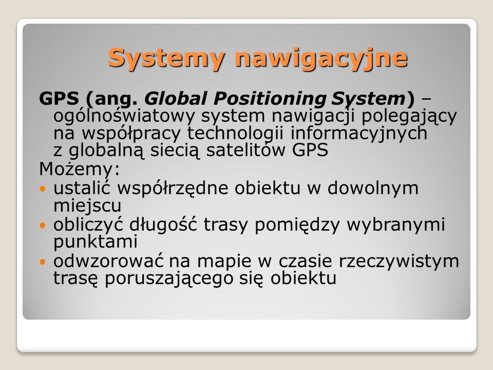 Systemy nawigacyjne