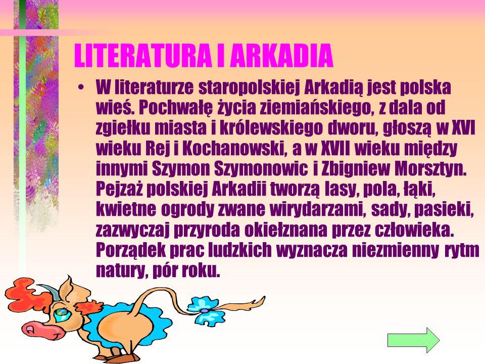 LITERATURA I ARKADIA