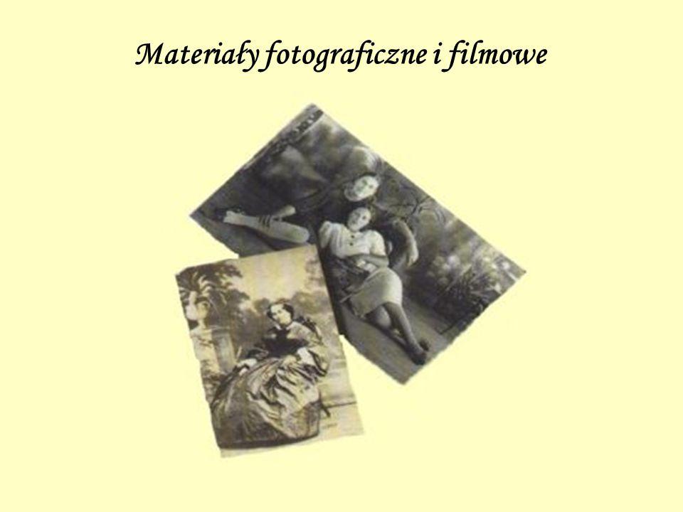 Materiały fotograficzne i filmowe