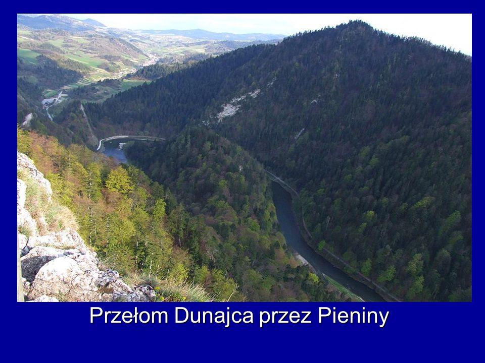 Przełom Dunajca przez Pieniny