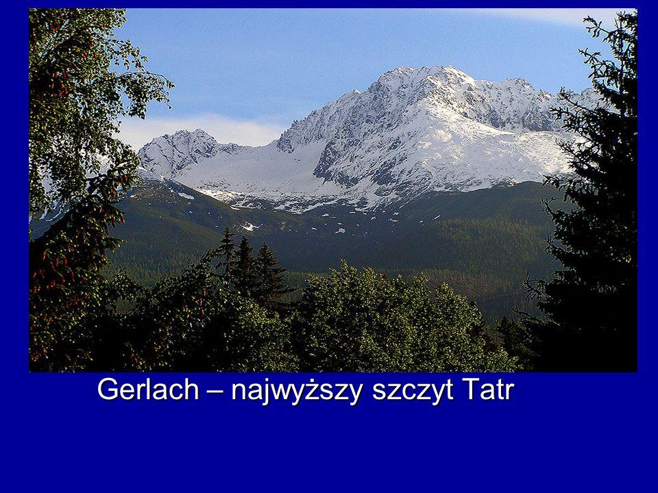 Gerlach – najwyższy szczyt Tatr