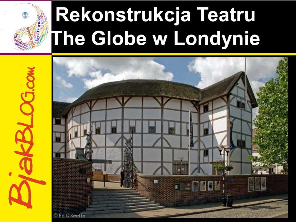 Rekonstrukcja Teatru The Globe w Londynie