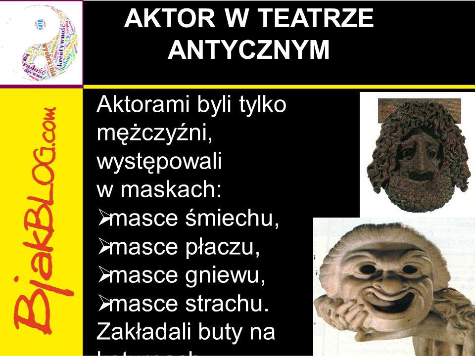 AKTOR W TEATRZE ANTYCZNYM