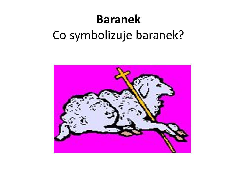 Baranek Co symbolizuje baranek