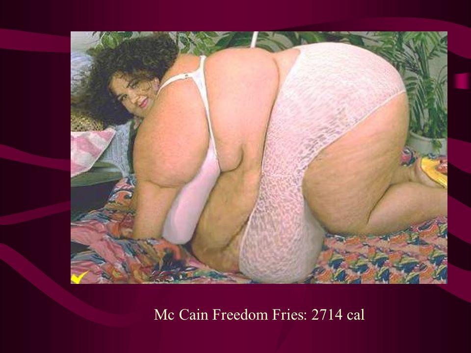 Mc Cain Freedom Fries: 2714 cal