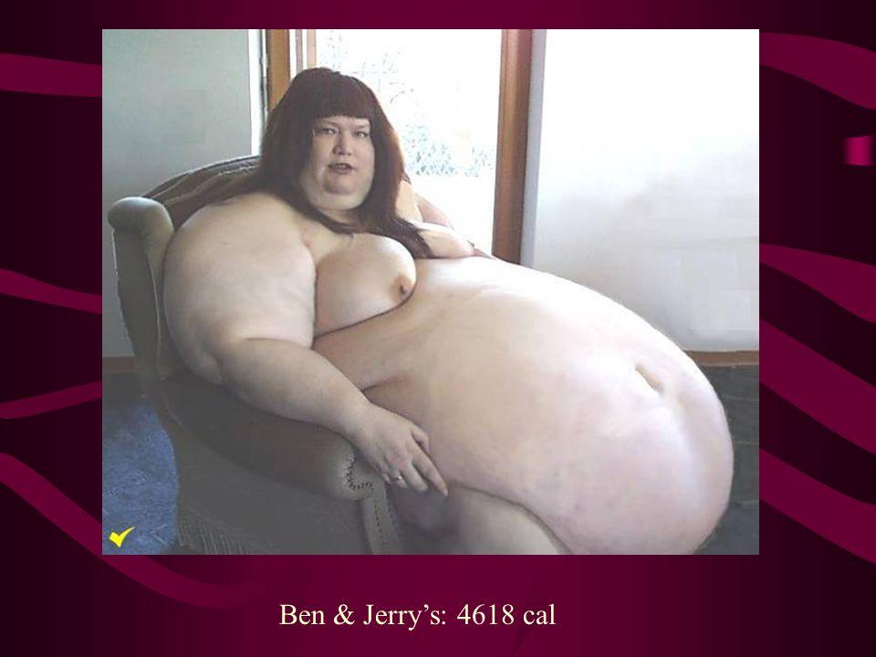 Ben & Jerry's: 4618 cal