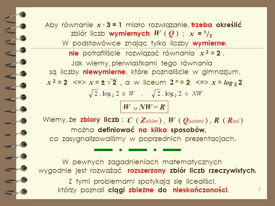 x = 1/3 x 2 = 2 <=> x = ± √ 2 , 2 x = 2 <=> x = log 2 2
