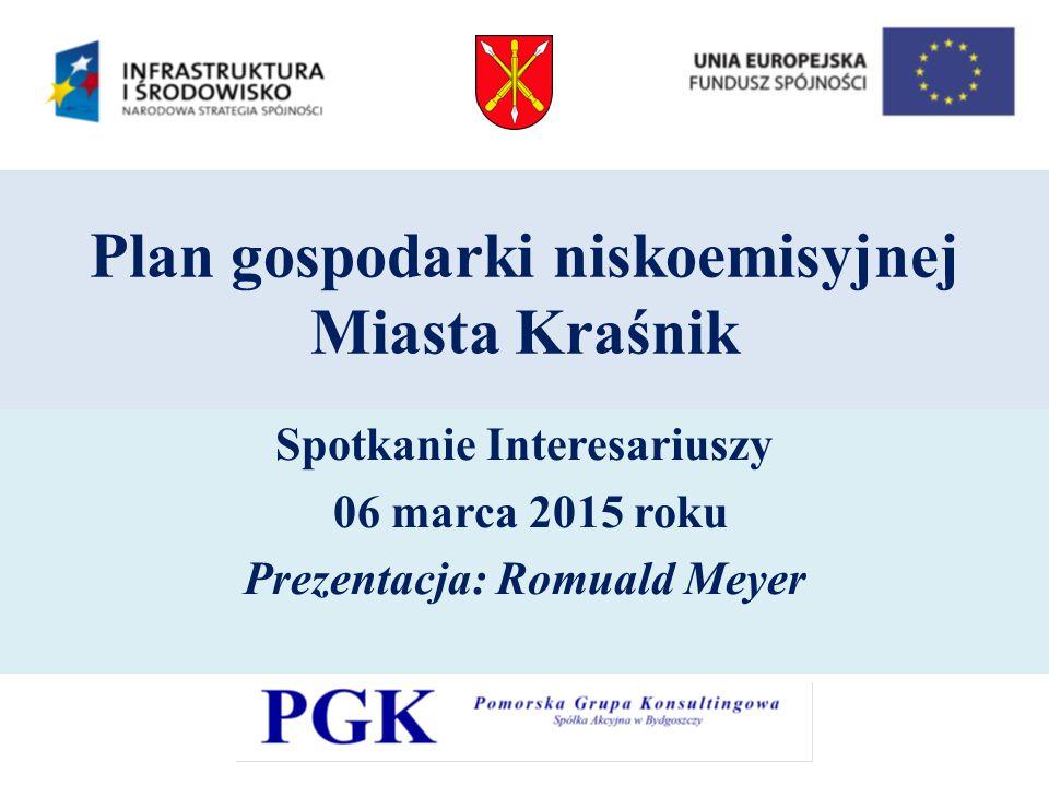 Plan gospodarki niskoemisyjnej Miasta Kraśnik