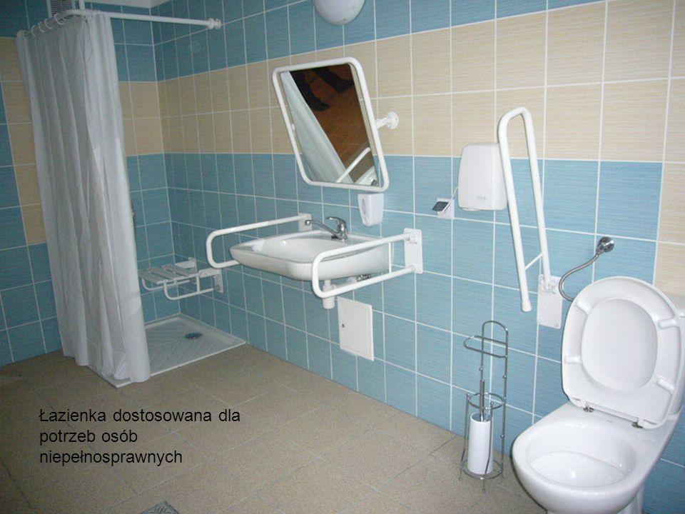 Łazienka dostosowana dla potrzeb osób niepełnosprawnych