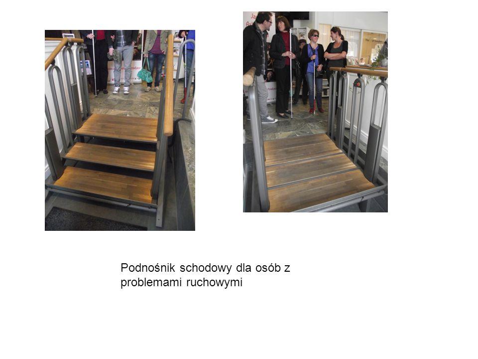 Podnośnik schodowy dla osób z problemami ruchowymi