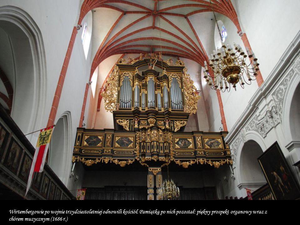 Wirtembergowie po wojnie trzydziestoletniej odnowili kościół
