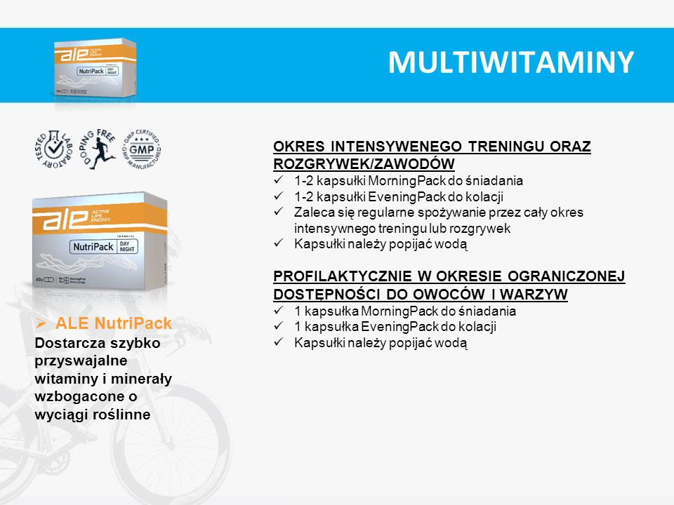 MULTIWITAMINY ALE NutriPack