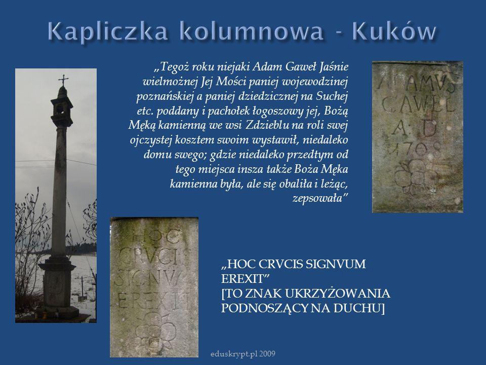 Kapliczka kolumnowa - Kuków