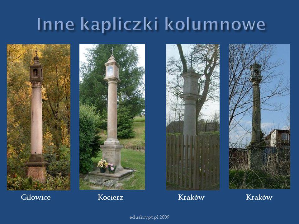 Inne kapliczki kolumnowe