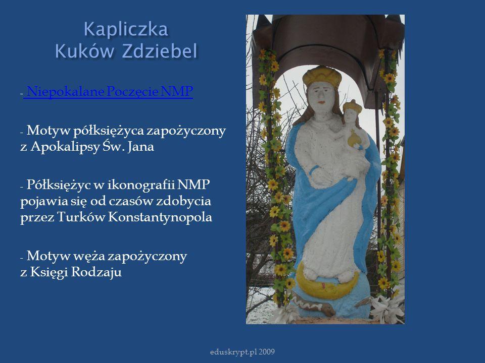 Kapliczka Kuków Zdziebel