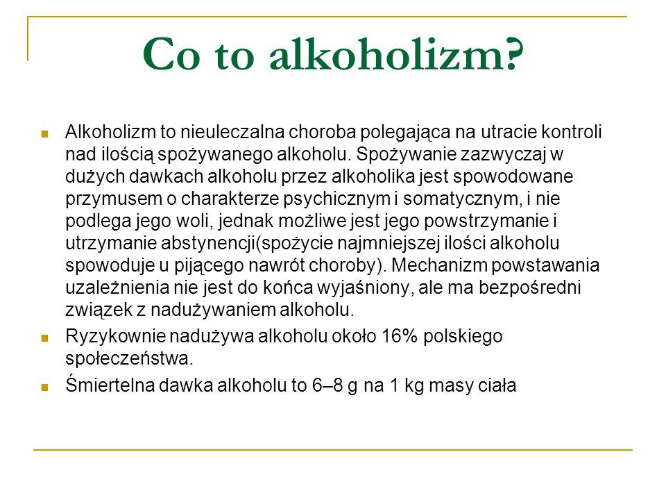 Co to alkoholizm