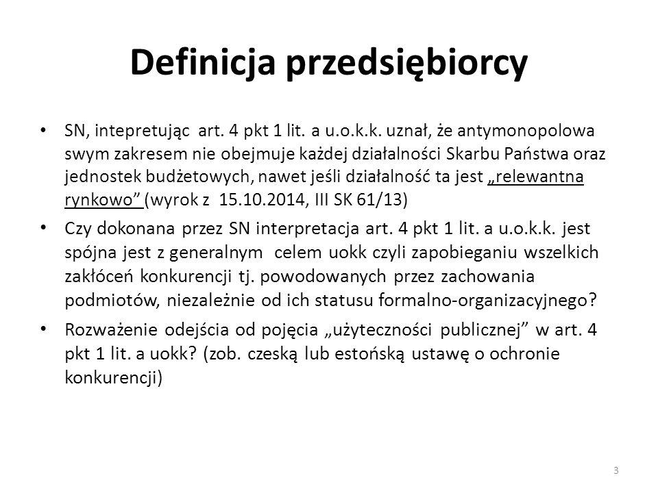 Definicja przedsiębiorcy