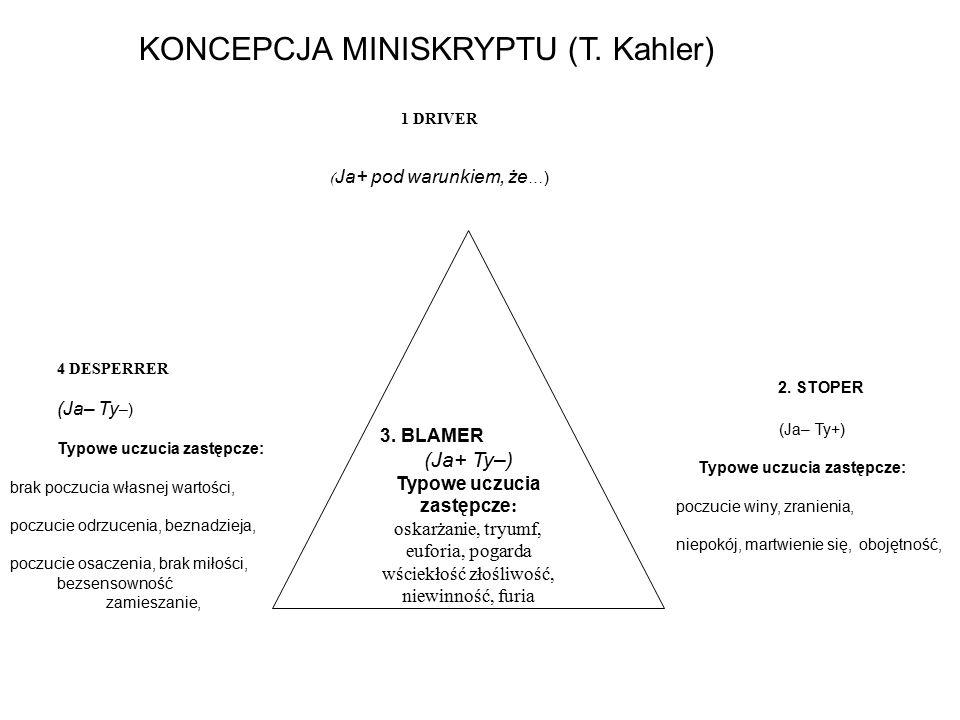 KONCEPCJA MINISKRYPTU (T. Kahler)