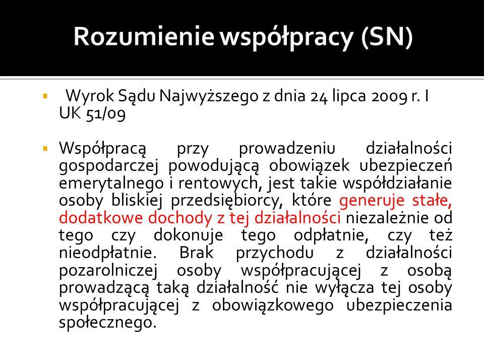 Rozumienie współpracy (SN)