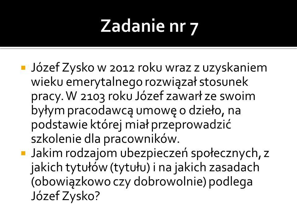 Zadanie nr 7