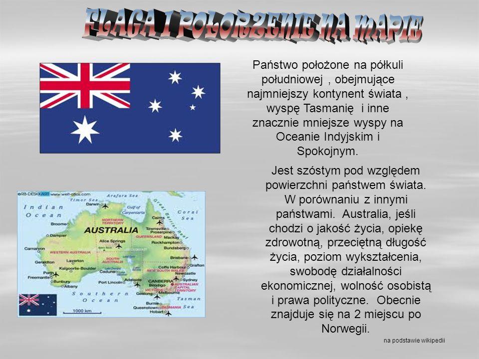 FLAGA I POŁORZENIE NA MAPIE