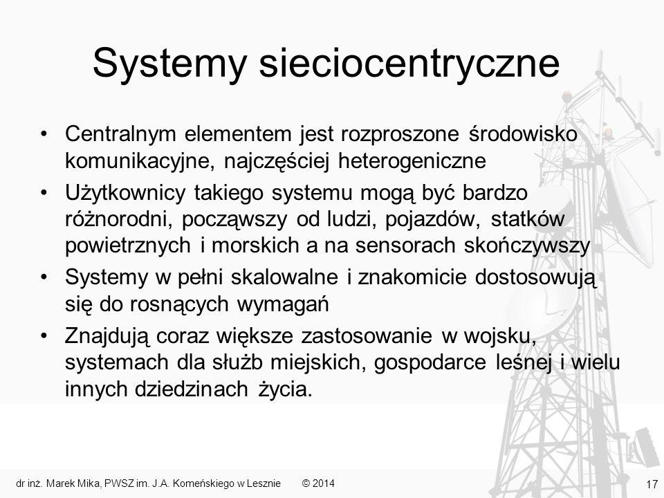 Systemy sieciocentryczne
