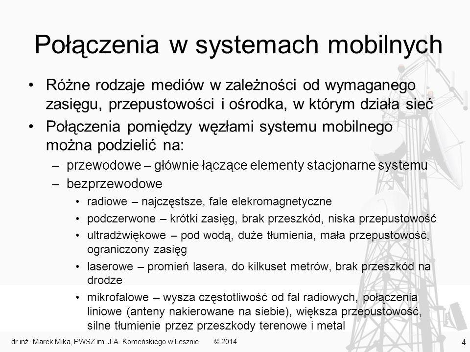 Połączenia w systemach mobilnych