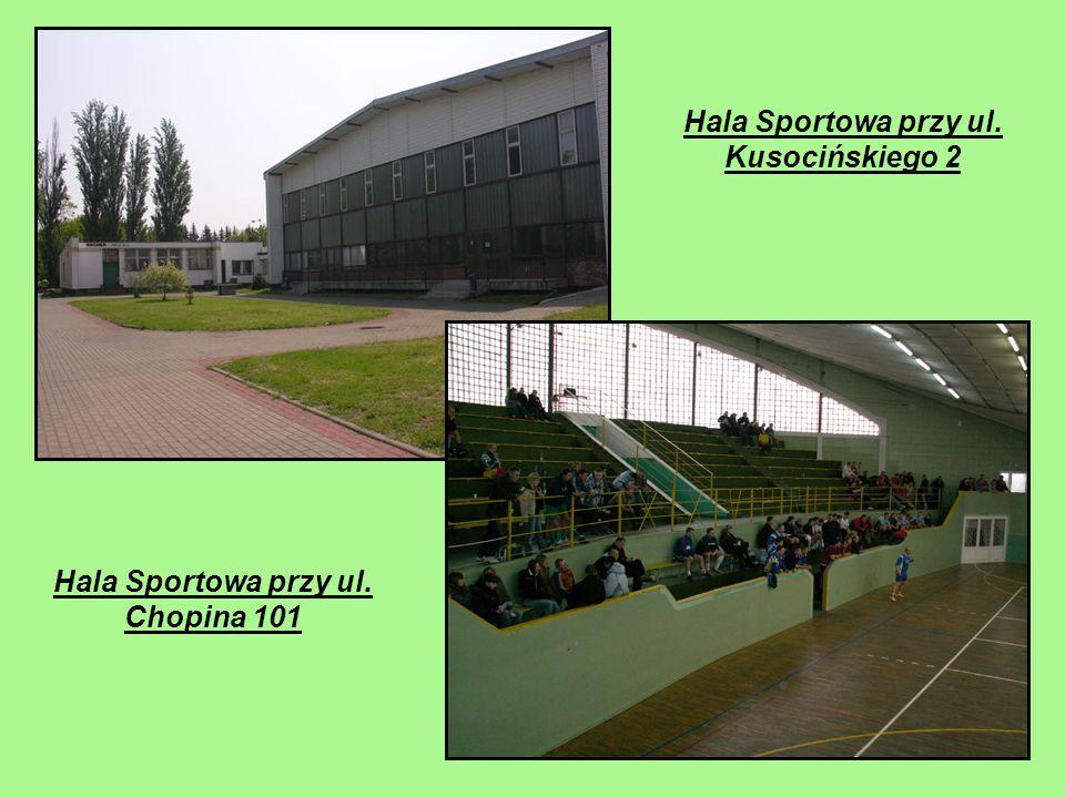 Hala Sportowa przy ul. Kusocińskiego 2