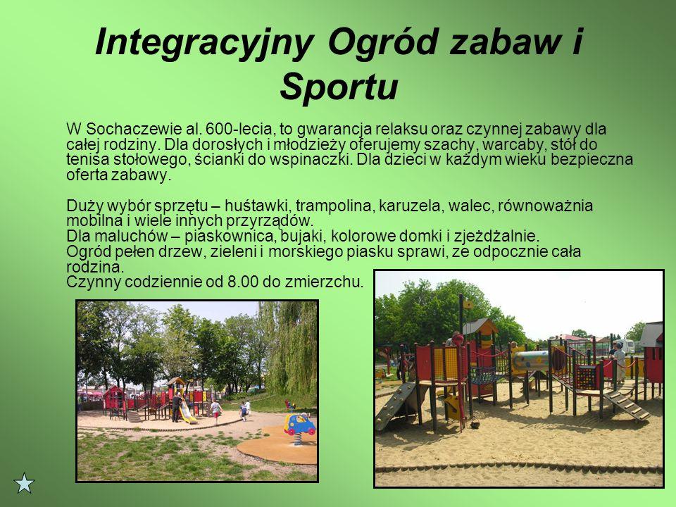 Integracyjny Ogród zabaw i Sportu