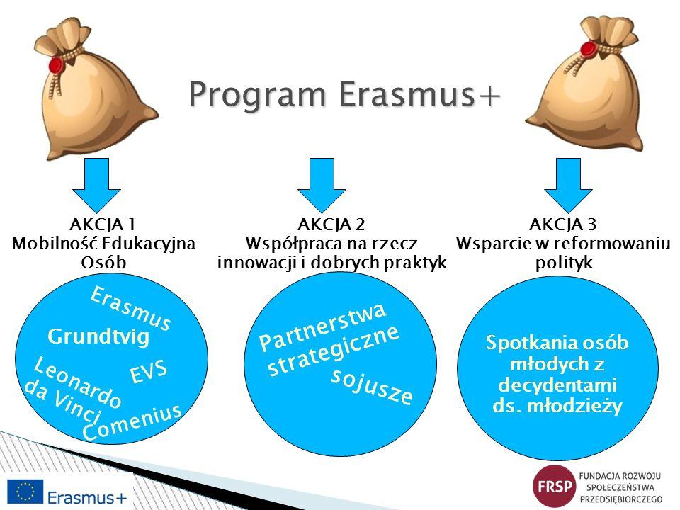 Program Erasmus+ Partnerstwa strategiczne sojusze Erasmus Grundtvig