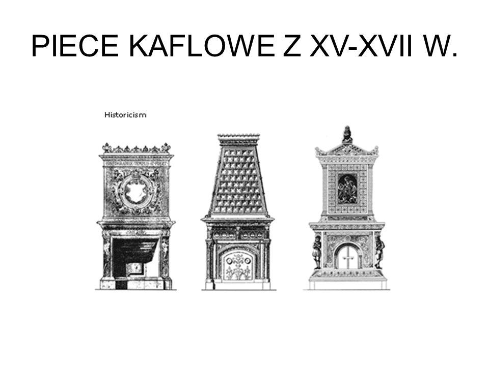 PIECE KAFLOWE Z XV-XVII W.