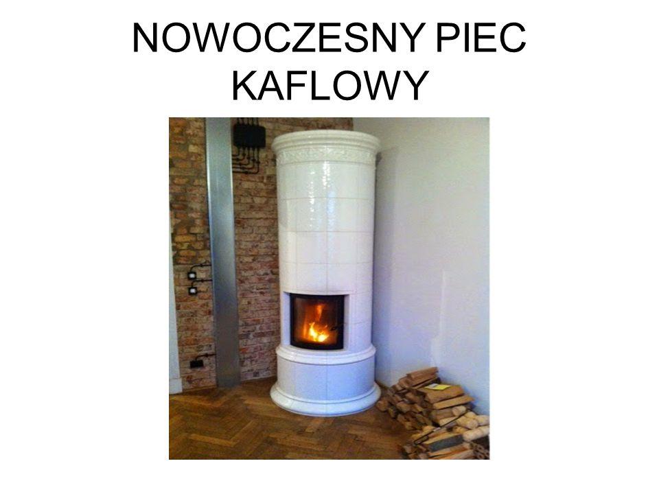 NOWOCZESNY PIEC KAFLOWY