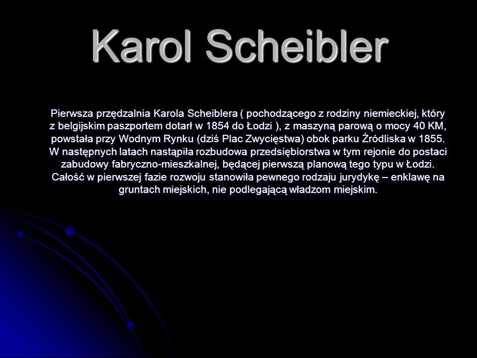 Karol Scheibler
