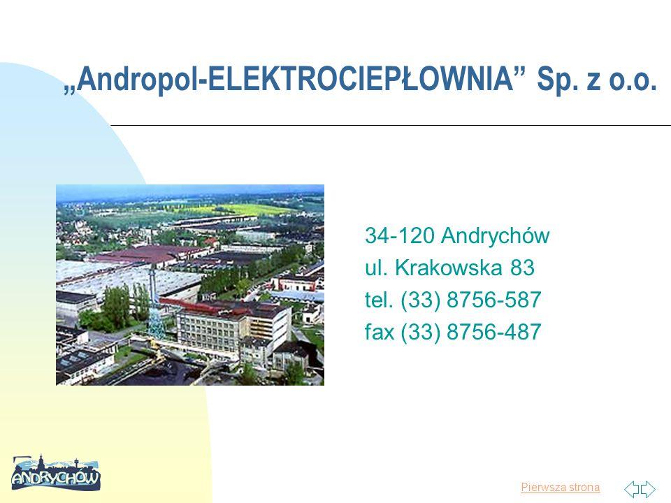 """""""Andropol-ELEKTROCIEPŁOWNIA Sp. z o.o."""
