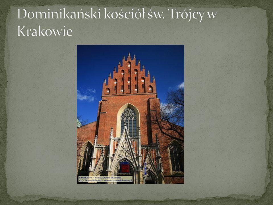 Dominikański kościół św. Trójcy w Krakowie
