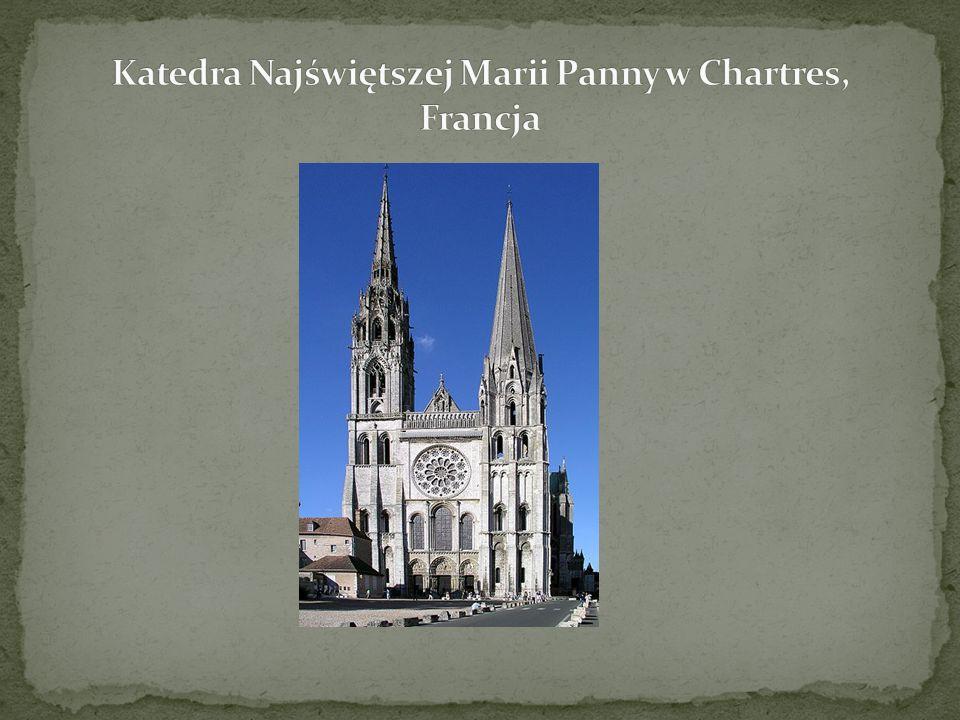 Katedra Najświętszej Marii Panny w Chartres, Francja
