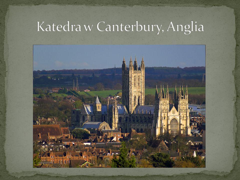 Katedra w Canterbury, Anglia