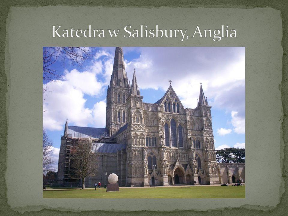 Katedra w Salisbury, Anglia
