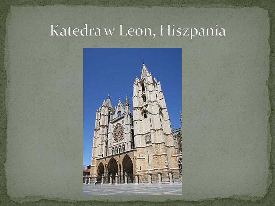 Katedra w Leon, Hiszpania