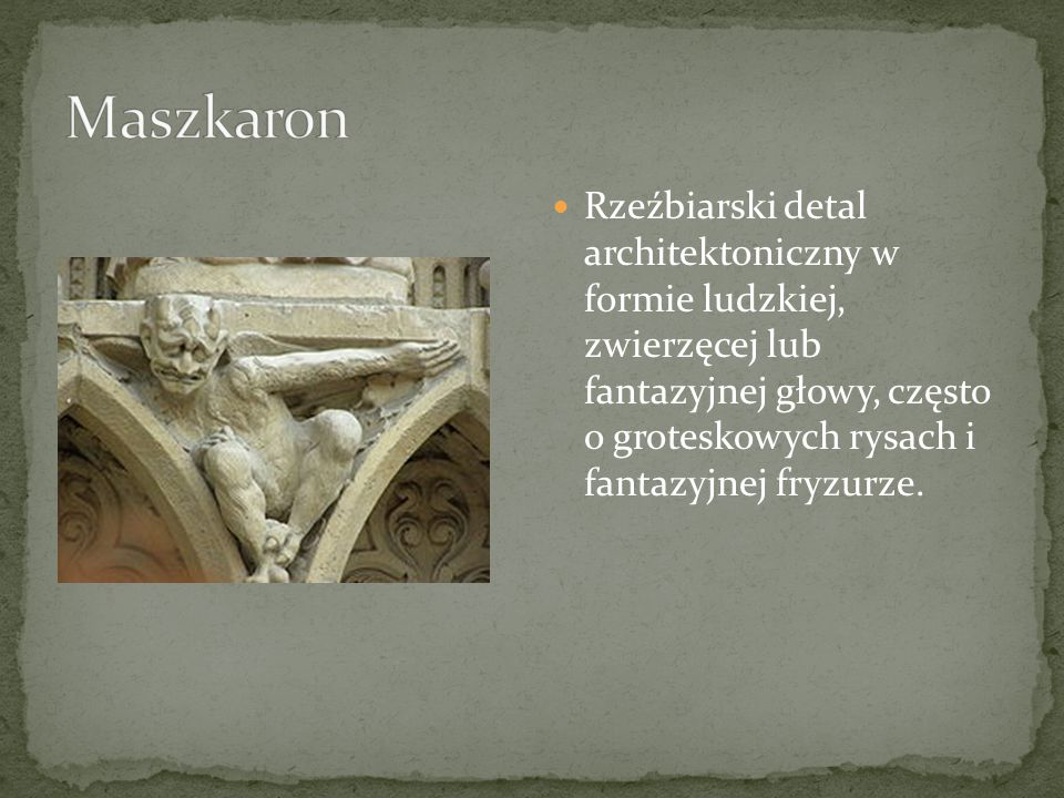 Maszkaron