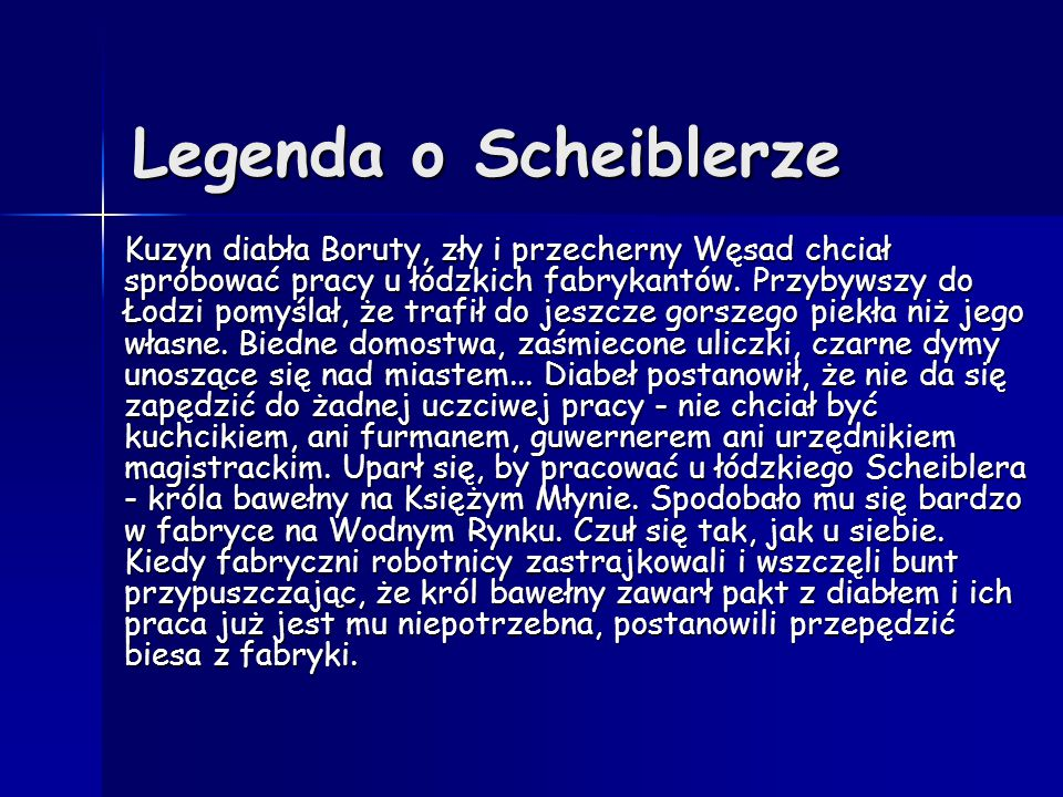 Legenda o Scheiblerze