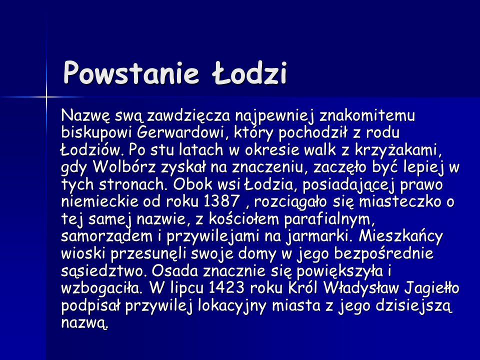 Powstanie Łodzi