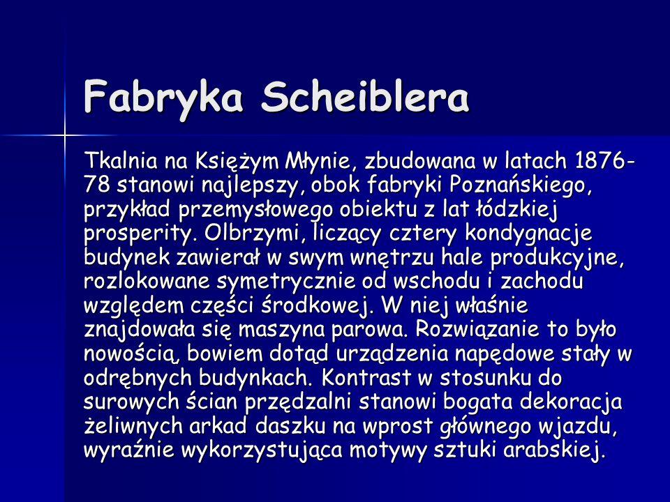 Fabryka Scheiblera