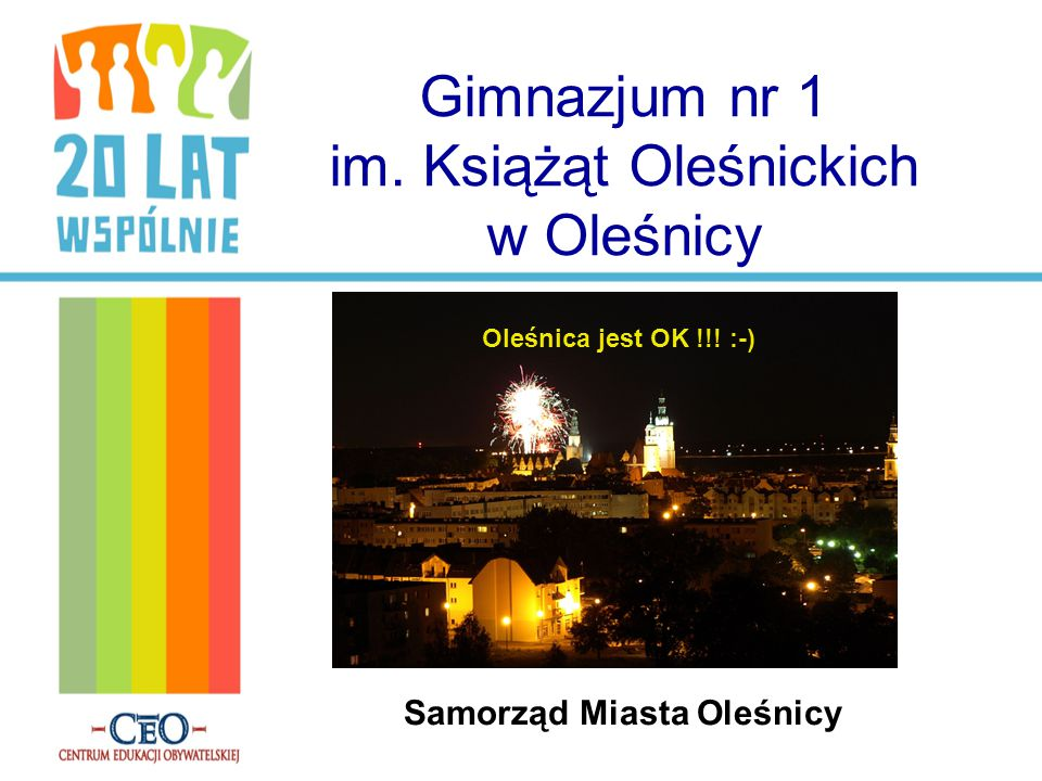 Gimnazjum nr 1 im. Książąt Oleśnickich w Oleśnicy