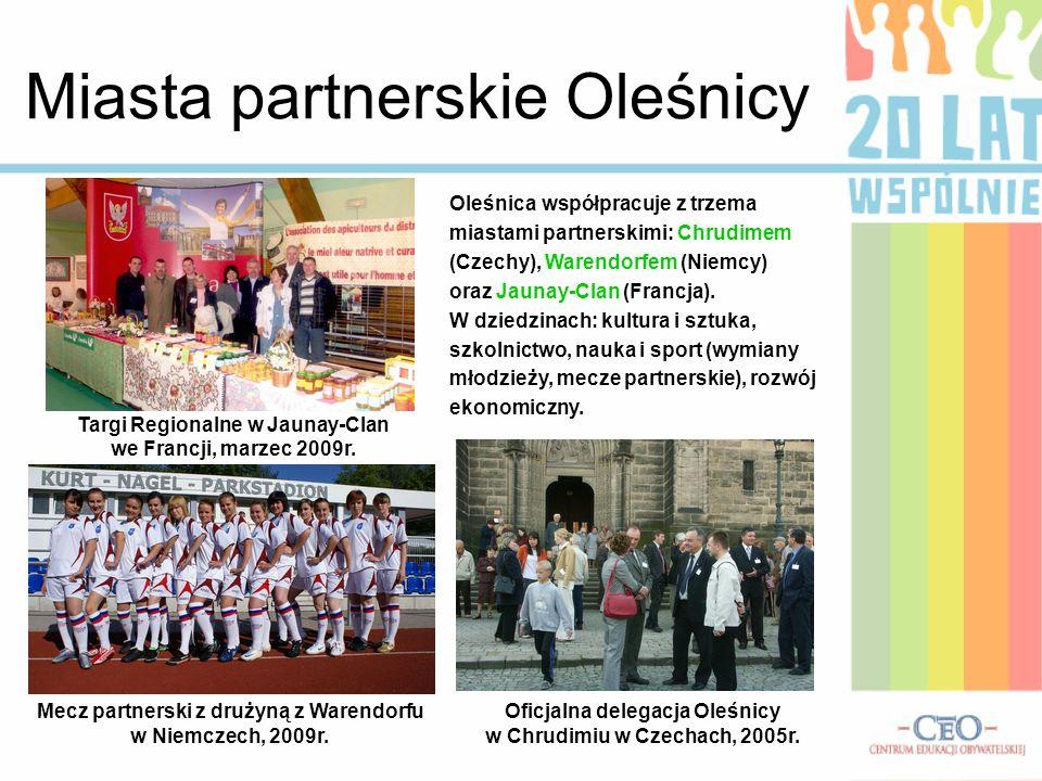Miasta partnerskie Oleśnicy